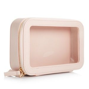 New: Cosmetics Nude Pink Bag by Macy's